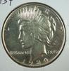 1934 Peace Silver Dollar AU