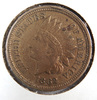 1862 Copper Nickel Indian Cents XF