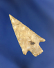 """1 3/8"""" Wallula Gap found near the Columbia River. Ex. Mike Sheppard collection."""