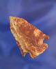 "1 7/8"" Pentagonal made from Netheres Flint Ridge Flint found near Kingston, Ross Co., Ohio."