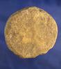 "3"" Sandstone Discoidal found on the Guthridge Farm near Flint Ridge, Licking Co., Ohio."