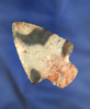 "2 13/16"" Colorful Flint Ridge  Adena - Perry Co., Ohio.  Ex. Homer Frush, Doug Hooks. Pictured"