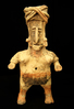 "11"" Tall by 5 7/8"" Wide Jalisco Female Figure - West Mexico, circa 300 BC - AD 900.  Bennett COA."