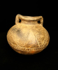 "3"" Tall Pre-Columbian Chorerra Culture Miniature Jar with incised designs.  Ecuador,  Schmitt COA."