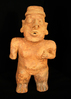 "13"" Tall Jalisco Standing Female Statue - Jalisco, West Mexico, circa 200 BC - AD 100. Schmitt COA."