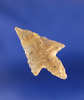 """15/16"""" nicely styled translucent Birdpoint found in the western U.S."""