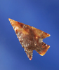 """Excellent flaking and style on this 13/16"""" Columbia Plateau made from attractive agate."""
