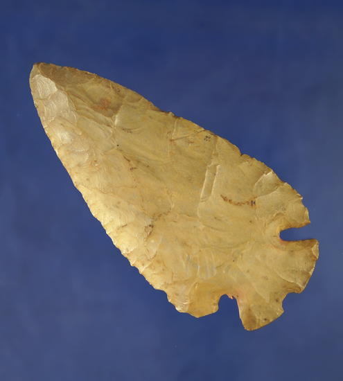 """3 11/16"""" Notched Base Dovetail - Carter Cave Flint found in Adams Co.,  Ohio. Bennett COA."""