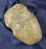 """4 3/4"""" Full Grooved Axe with a nicely polished bit, found in Pennsylvania."""