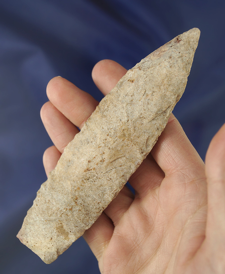 "Nicely patinated 5 3/16"" Sedalia found in Missouri."