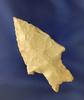 "2 3/8"" Pedernales found in Travis Co.,  Texas. Jackson COA."