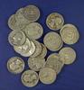 22 Assorted Washington Silver Quarters AG-AU