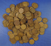 Over 150 Assorted Lincoln Wheat Cents