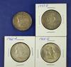 1951, 1957-D, 1963-D and 1963-D Franklin Half Dollars VF-BU