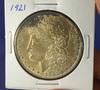1921 Morgan Silver Dollar AU
