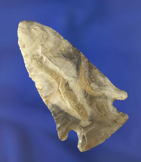 """2 13/16"""" Mozarkite Flint Archaic Knife found in Missouri."""