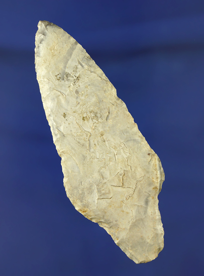 "3 1/2"" Dickson found in Howard Co., Missouri made from Burlington chert. Maury Meadows COA."