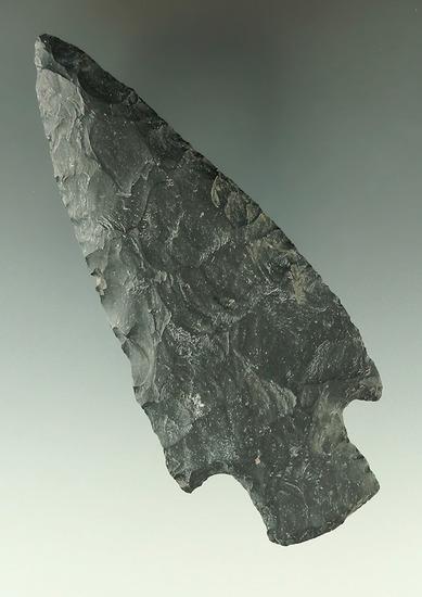 "4 1/4"" Coshocton Flint Adena Knife found in Medina Co., Ohio."