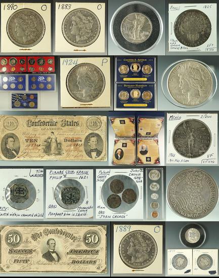 550+ Lot Coin / Numismatic Auction!