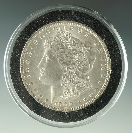 Nice 1900-O Morgan Silver Dollar AU