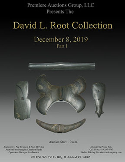 David L. Root  Indian Artifact Auction- Premiere