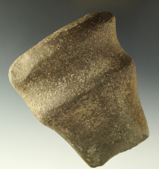 """Well styled 3 5/16"""" long 3/4 grooved Axe with damage to the bit area found in southern Ohio."""