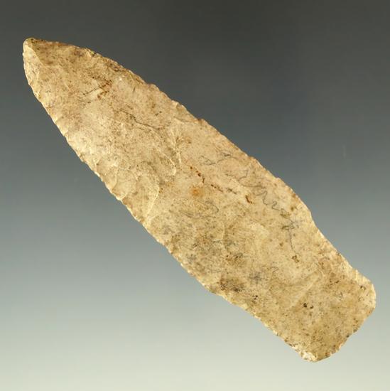 "4"" Rochester stemmed knife found in Stoddard County Missouri in 1982.  Rogers COA."