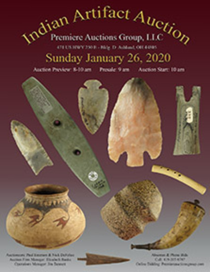 Indian Artifacts  - Bennett's Premiere Auctions