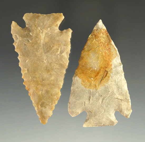 Pair of Marcos points found in Texas from the collection of Wallace Culpepper & James Ferrell .