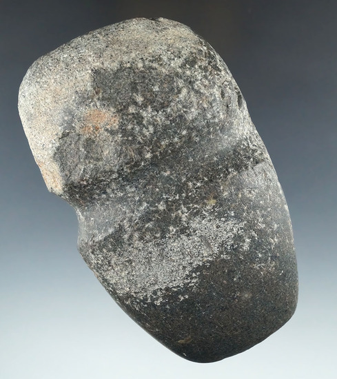 """5"""" long 3/4 grooved Axe found near Witch Well, Arizona that is well patinated."""