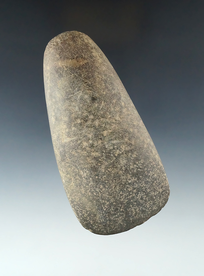 "4 5/8"" Hardstone Celt found in Ohio."