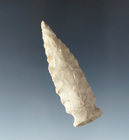 """2 1/2"""" Classic style Fishspear point found in Ohio."""