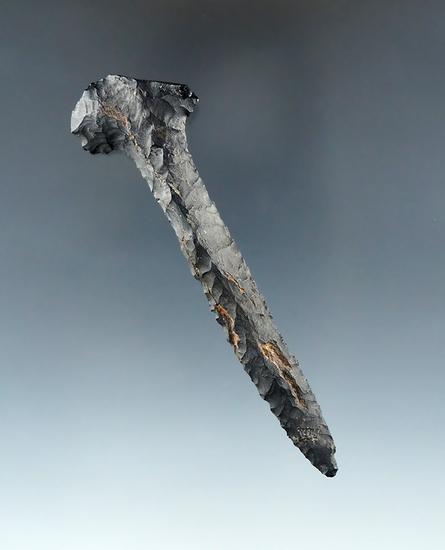 "3 3/8"" Coshocton Flint Drill found in Ohio."
