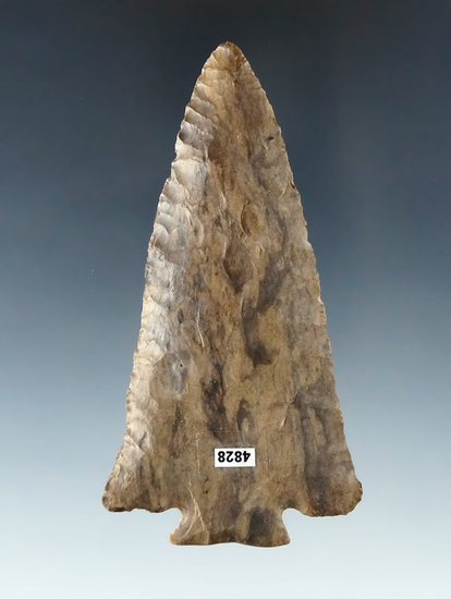"Exceptional! 3 3/4"" Dover Flint Decatur Fracture Base found in Tennessee. Ex. Young, Shively."