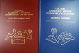 Pair of Colonel Raymond C. Vietzen Indian Relic Collection Auction Catalogs, 1 & 2.