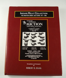 Hardback Book: Indian Relic Collection, The Painter Creek Auctions 1977-1988, 334 pages.