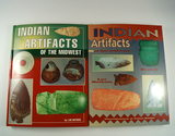Pair of Books: Indian Artifacts of the Midwest, Book I and II, by Lar Hothem.