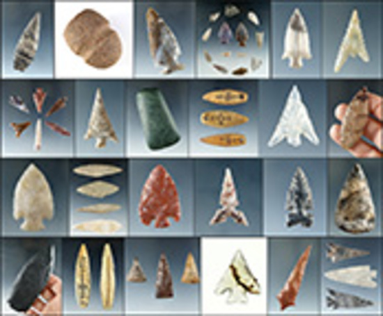 Arrowheads & Indian Artifact Auction - Ex. Museum!