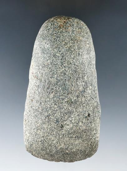 "3 5/8"" Hardstone Celt found in Licking Co. Ohio."