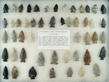 Group of approximately 50 late Hopewell and Woodland Points found in north-central Ohio.