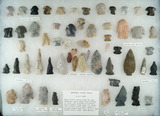 Group of approximately 54 assorted Hopewell Flint tools found in north central Ohio.