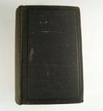 Large old hardcover book titled