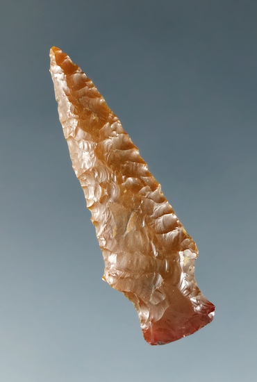"1 7/16"" Dagger made from high-quality, glossy semi-translucent material, Columbia River."