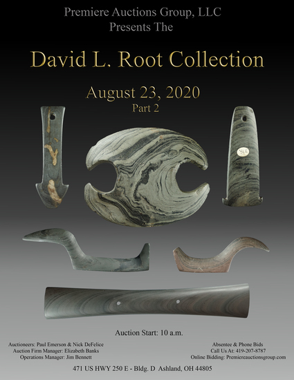 Root Collection Sale #2 - Indian Artifacts Auction