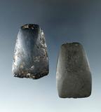 Pair of Hematite Celts, largest is 1 3/4