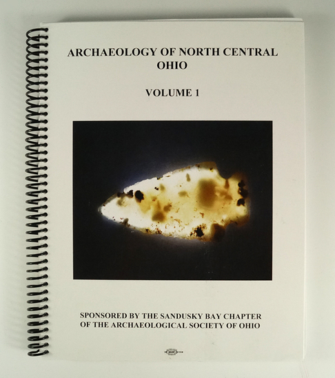 "Spiral-bound book in excellent condition ""Archaeology of North-Central Ohio"""