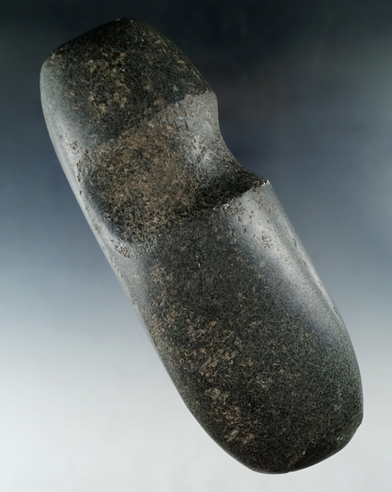 "8 3/16"" Well shaped and highly polished Diorite Hohokam Axe found in New Mexico/Arizona."