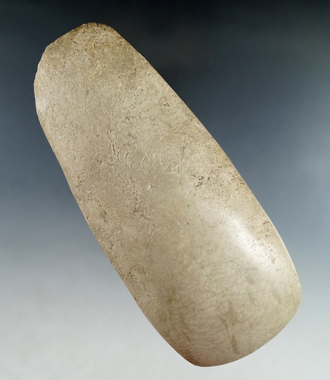 "5 3/4"" Highly polished Hardstone Celt found in Montgomery Co., Ohio."