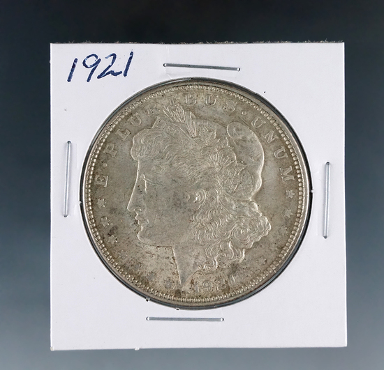 1921 Morgan Silver Dollar XF