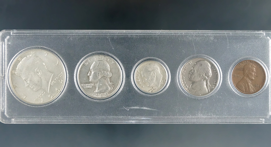 1964 Year Set in Holder XF-AU